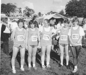 Waverley Harriers - Ladies X Country Winter 1995